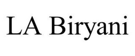 LA BIRYANI
