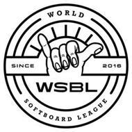 WSBL WORLD SOFTBOARD LEAGUE SINCE 2016