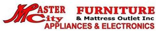 MASTER CITY FURNITURE & MATTRESS OUTLET INC APPLIANCES & ELECTRONICS