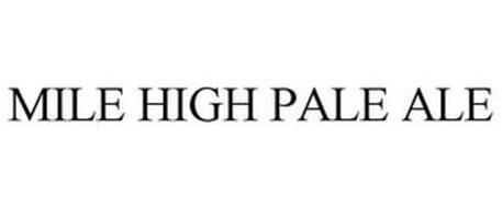 MILE HIGH PALE ALE
