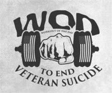 WOD WORKOUT OF THE DAY TO END VETERAN SUICIDE