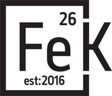 26 FEK EST:2016