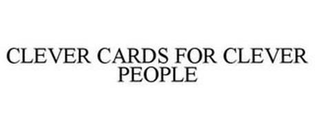 CLEVER CARDS FOR CLEVER PEOPLE
