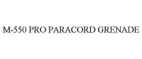 M-550 PRO PARACORD GRENADE
