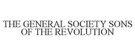 THE GENERAL SOCIETY SONS OF THE REVOLUTION