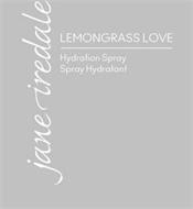 JANE IREDALE LEMONGRASS LOVE HYDRATION SPRAY SPRAY HYDRATANT