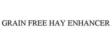 GRAIN-FREE HAY ENHANCER