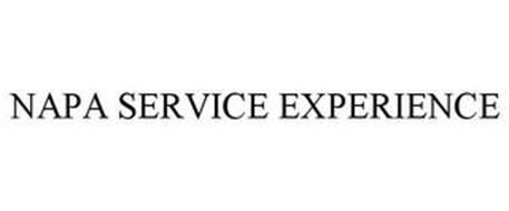 NAPA SERVICE EXPERIENCE