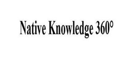 NATIVE KNOWLEDGE 360°