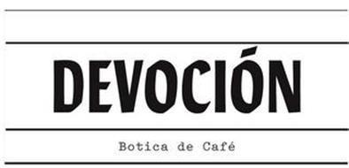 DEVOCIÓN BOTICA DE CAFÉ
