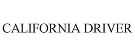 CALIFORNIA DRIVER