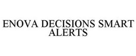 ENOVA DECISIONS SMART ALERTS