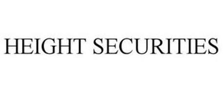 HEIGHT SECURITIES