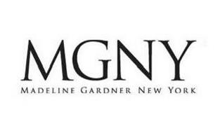 MGNY MADELINE GARDNER NEW YORK