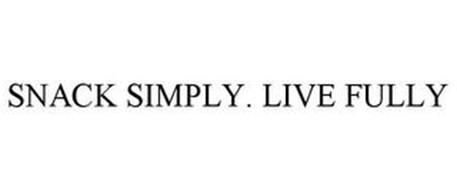 SNACK SIMPLY. LIVE FULLY
