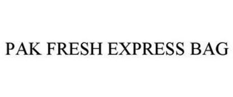 PAK FRESH EXPRESS BAG