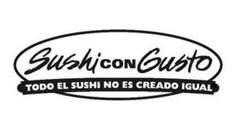 SUSHI CON GUSTO TODO EL SUSHI NO ES CREADO IGUAL