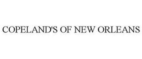 Copeland S Of New Orleans Llc Trademarks 16 From