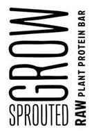 GROW SPROUTED RAW PLANT PROTEIN BAR