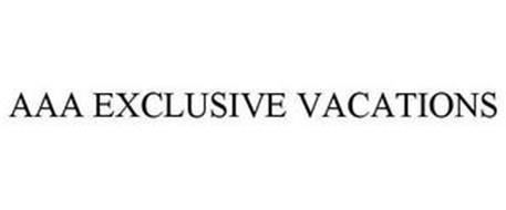 AAA EXCLUSIVE VACATIONS