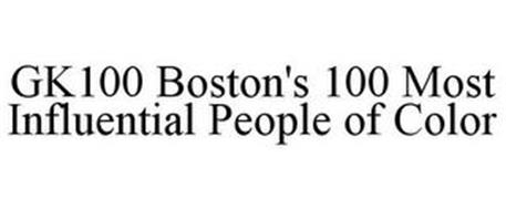 GK100 BOSTON'S 100 MOST INFLUENTIAL PEOPLE OF COLOR