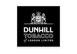 OPTIME SIT 1907 DUNHILL TOBACCO OF LONDON LIMITED