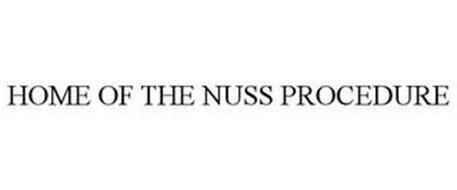 HOME OF THE NUSS PROCEDURE
