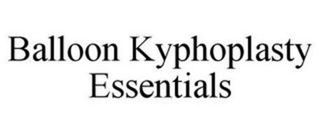 BALLOON KYPHOPLASTY ESSENTIALS