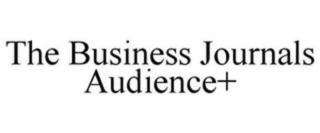 THE BUSINESS JOURNALS AUDIENCE+