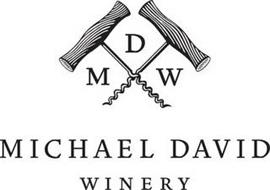 MDW MICHAEL DAVID WINERY