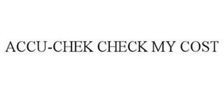 ACCU-CHEK CHECK MY COST