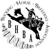 BUCKING · HORSE · BREEDERS · ASSOCIATION BHBA