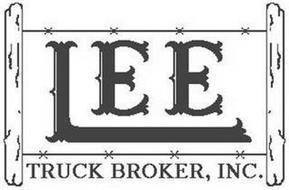 LEE TRUCK BROKER, INC.