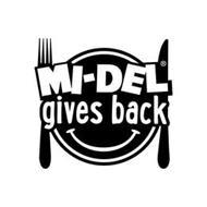 MI-DEL GIVES BACK