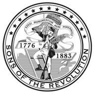 EXEGI MONUMENTUM AERE PERENNIUS 1776 1883 SONS OF THE REVOLUTION