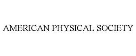 AMERICAN PHYSICAL SOCIETY