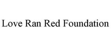 LOVE RAN RED FOUNDATION