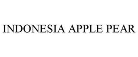 INDONESIA APPLE PEAR