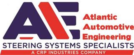 AAE ATLANTIC AUTOMOTIVE ENGINEERING STEERING SYSTEMS SPECIALISTS A CRP INDUSTRIES COMPANY