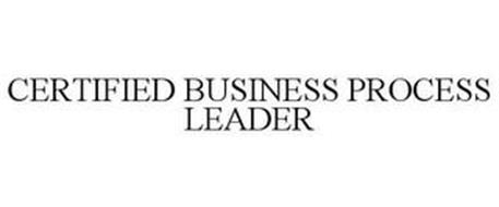CERTIFIED BUSINESS PROCESS LEADER