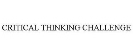 CRITICAL THINKING CHALLENGE