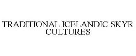 TRADITIONAL ICELANDIC SKYR CULTURES