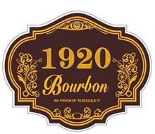 1920 BOURBON 90 PROOF WHISKEY