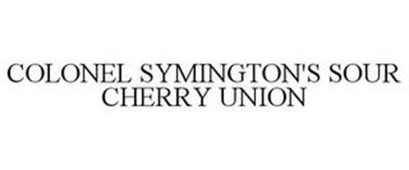 COLONEL SYMINGTON'S SOUR CHERRY UNION