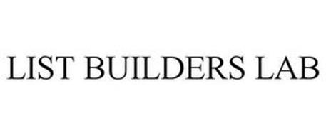 LIST BUILDERS LAB