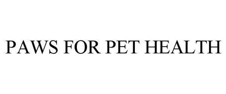 PAWS FOR PET HEALTH