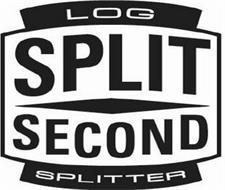 LOG SPLIT SECOND SPLITTER