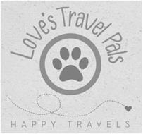 LOVE'S TRAVEL PALS HAPPY TRAVELS