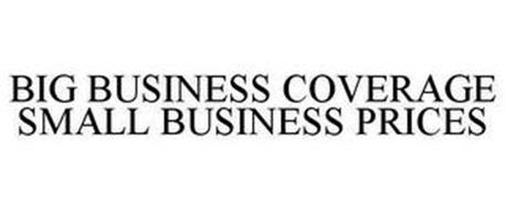BIG BUSINESS COVERAGE SMALL BUSINESS PRICES