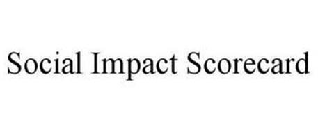 SOCIAL IMPACT SCORECARD
